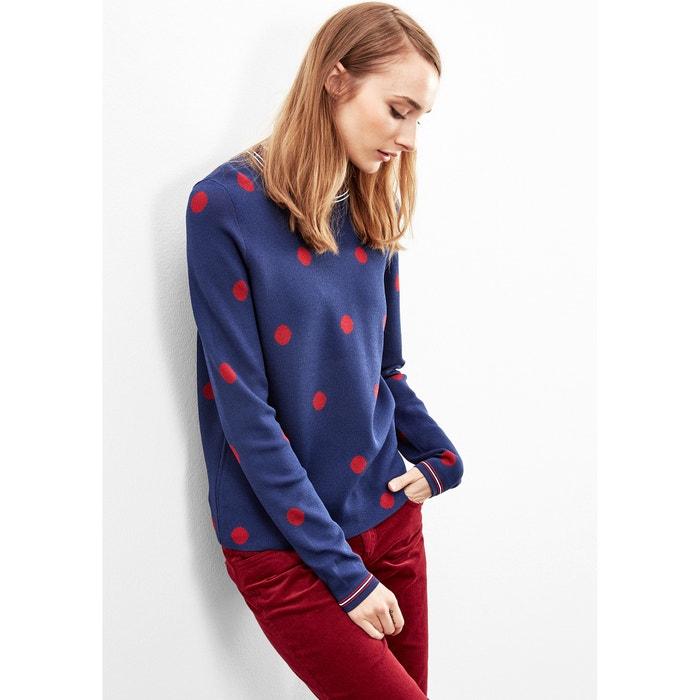 Polka Dot Fine Knit Jumper  S OLIVER image 0