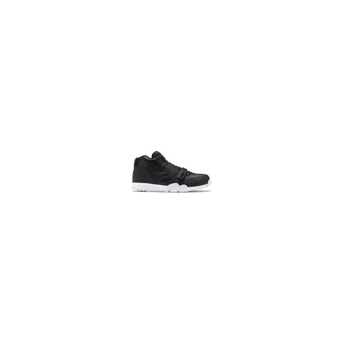 Basket air trainer 1 mid noir Nike