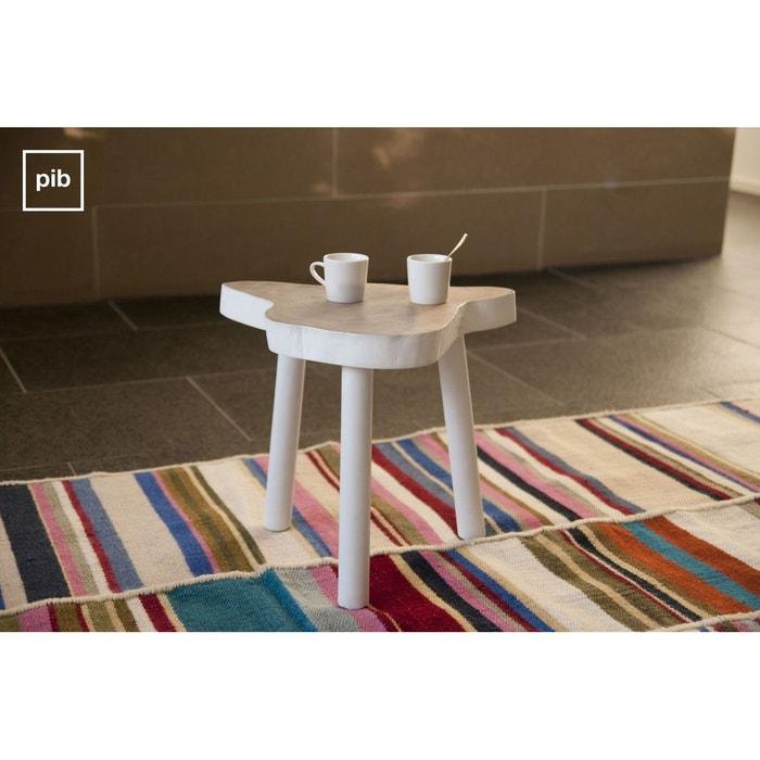 table d 39 appoint nederland blanc produit interieur brut la redoute. Black Bedroom Furniture Sets. Home Design Ideas