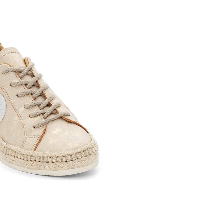 Pam PATAUGAS piel de Zapatillas con cordones qXwXp7xZ