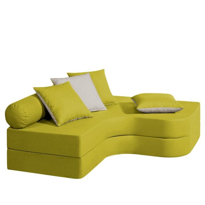afbeelding Hoekbank/bed met mousse Meeting La Redoute Interieurs