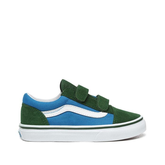 vans bleu vert