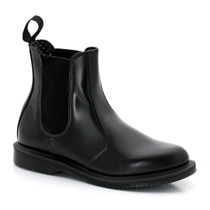 Chelsea boots flora aus leder schwarz Dr Martens   La Redoute