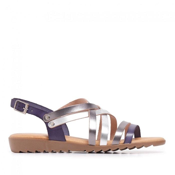 sandales cuir la redoute flip flop