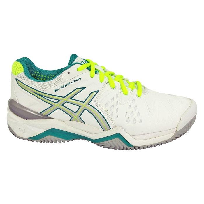 Chaussures de tennis gel resolution 6 blanc Asics | La Redoute