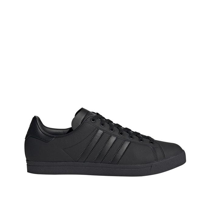 Baskets cuir coast star noir Adidas Originals | La Redoute