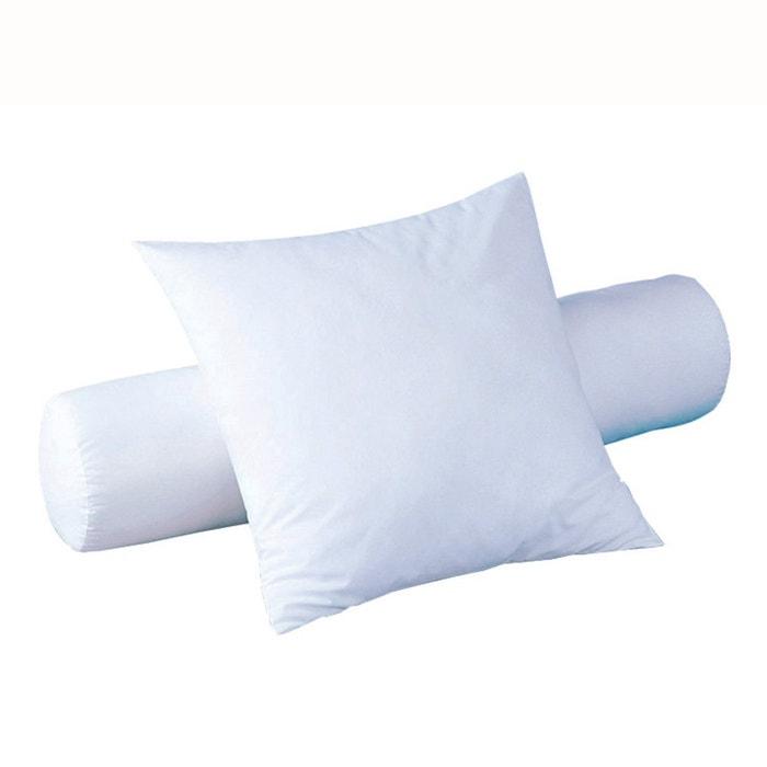 Cuscini Cilindrici.Cuscino Cilindrico In Materiale Sintetico Bianco Reverie Nature