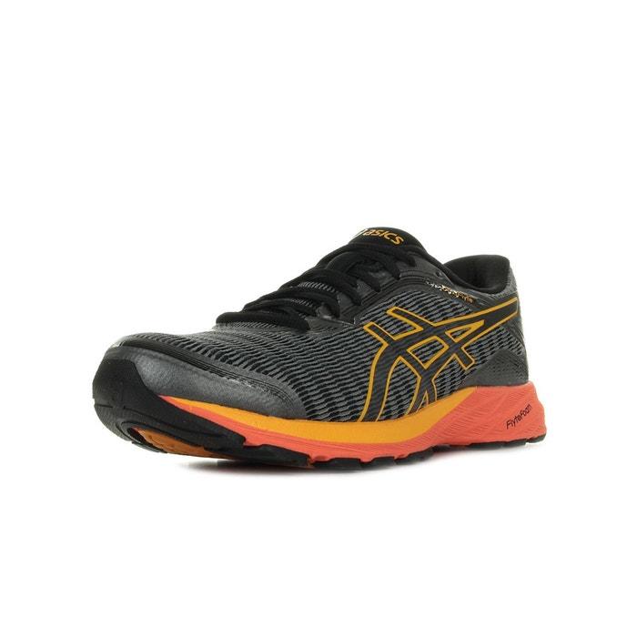 Chaussures de running dynaflyte gris noir orange Asics