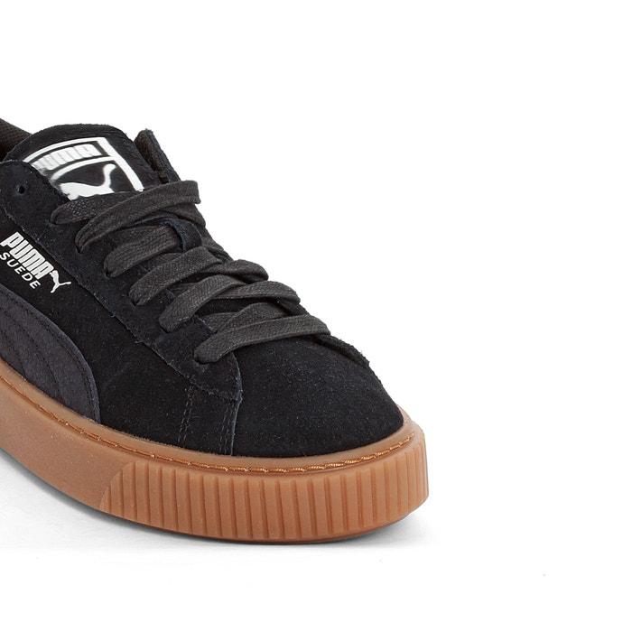 promo code d4528 81723 Suede platform gum trainers black Puma   La Redoute