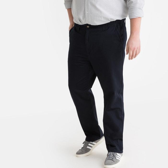 Regular chino broek, elastisch opzij La Redoute Collections
