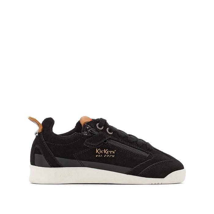 Leder sneakers kick 18 cdt zip schwarz Kickers | La Redoute