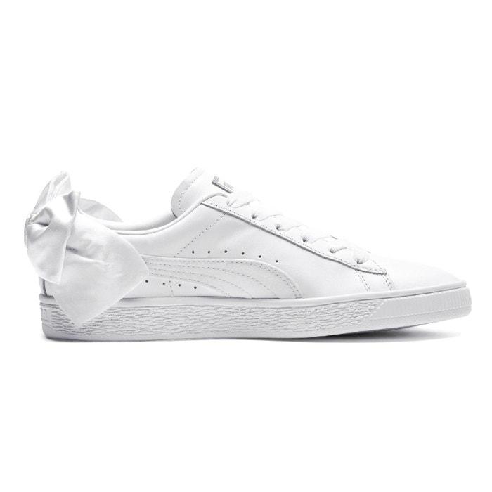 Baskets bow blanc Puma | La Redoute