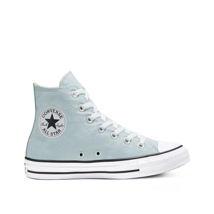 Chuck taylor all star seasonal canvas hi bleu ciel Converse