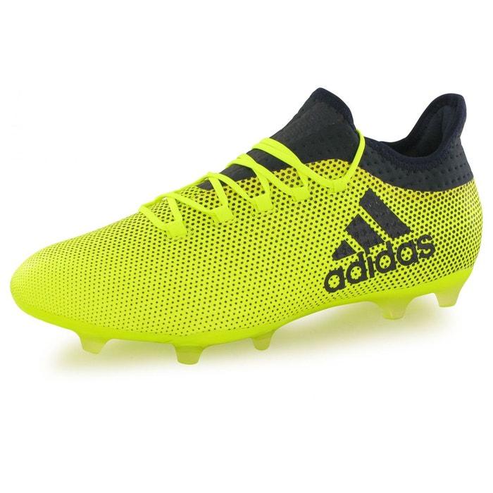 Chaussures x 17.2 fg jaune noir Adidas   La Redoute