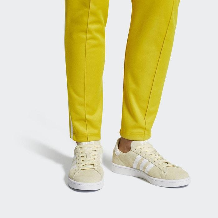 adidas campus jaune femme