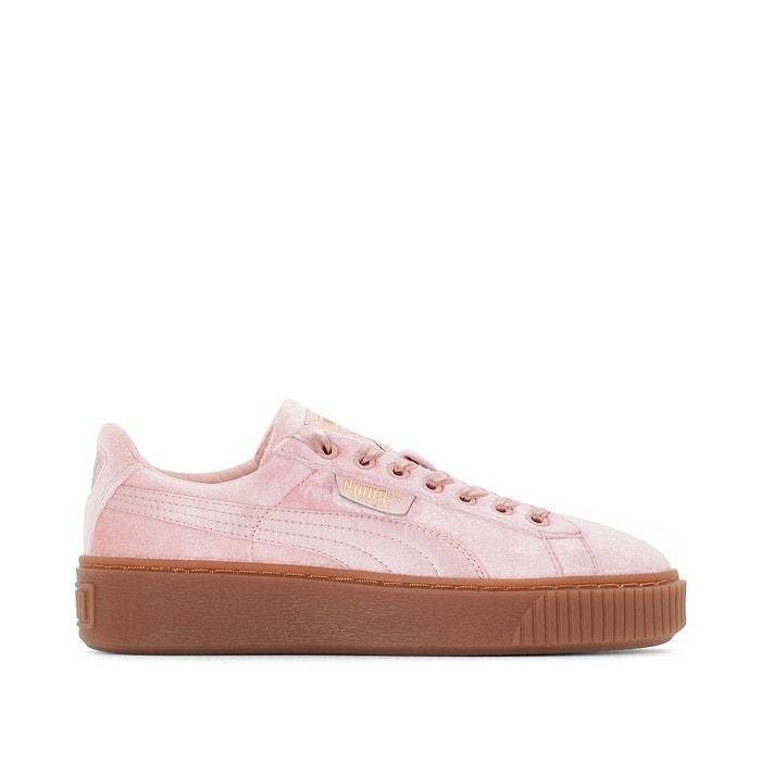 Puma Basket Platform VS W shoes pink