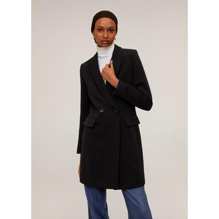 Manteau à double boutonnage Mango | La Redoute