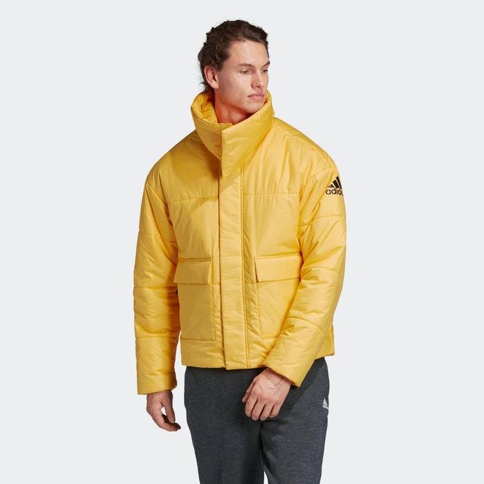 adidas veste de ski à capuche homme jaune bleu