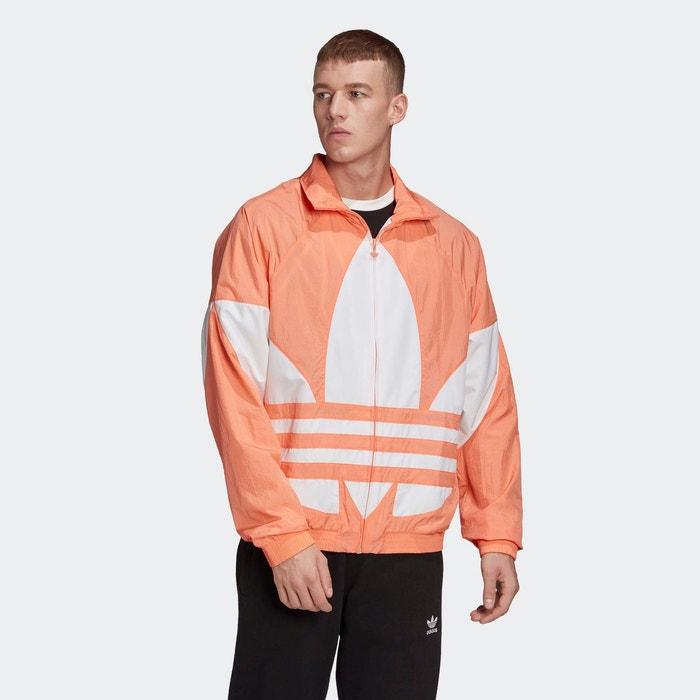 Veste de survêtement big trefoil orange Adidas Originals