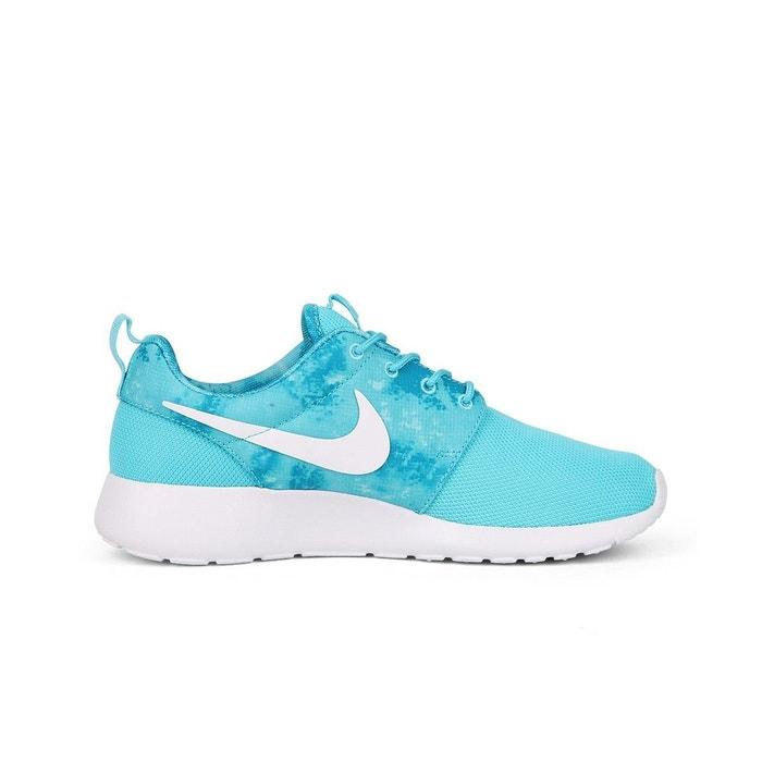 Nike wmns roshe run print 599432 414 bleu Nike   La Redoute