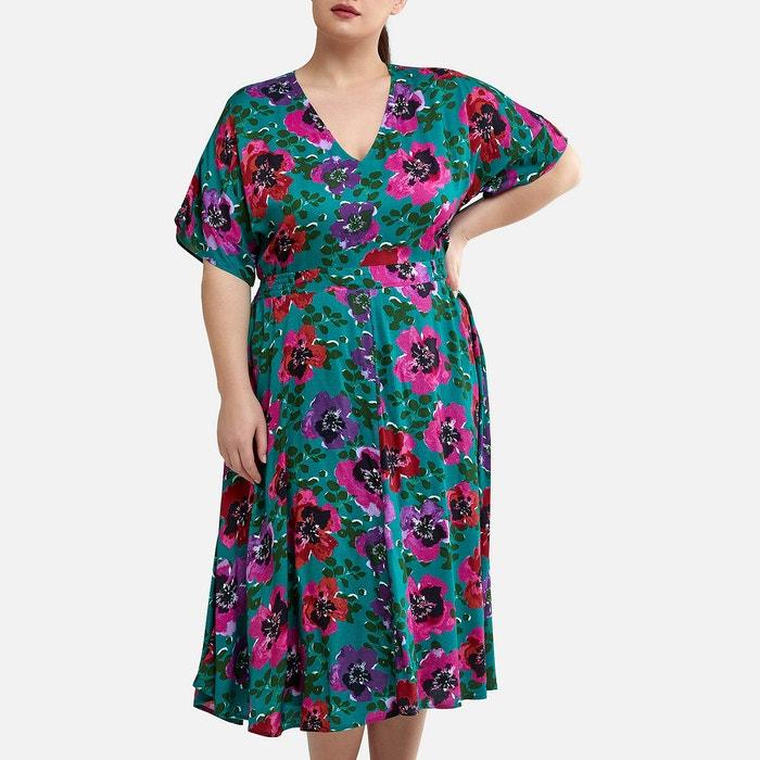 Floral Print Midi Dress  LA REDOUTE COLLECTIONS PLUS image 0