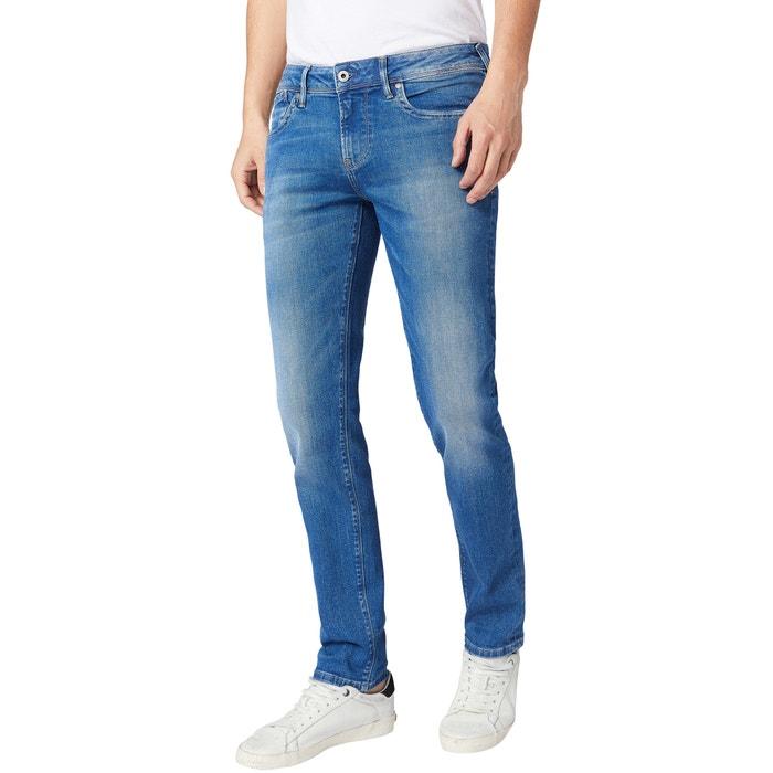 Calça Jeans Com Lycra Stretch Masculina Slim