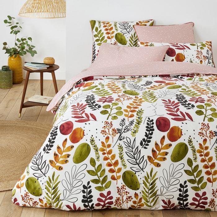 Palm Spring Duvet Cover In Botanical, Botanical Print Bedding