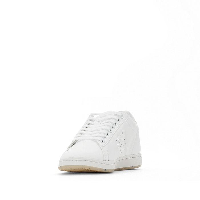 Sapatilhas courtset w bold branco Le Coq Sportif   La Redoute