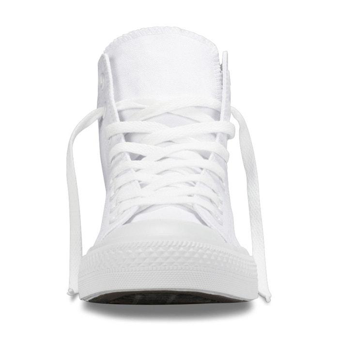 Baskets montantes ctas hi mono canvas blanc Converse | La