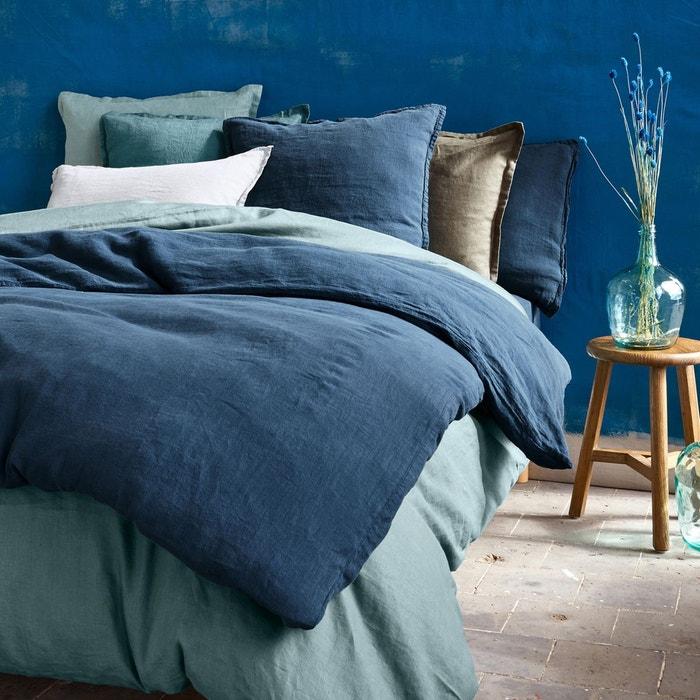 Linge de lit bleu et classic blue