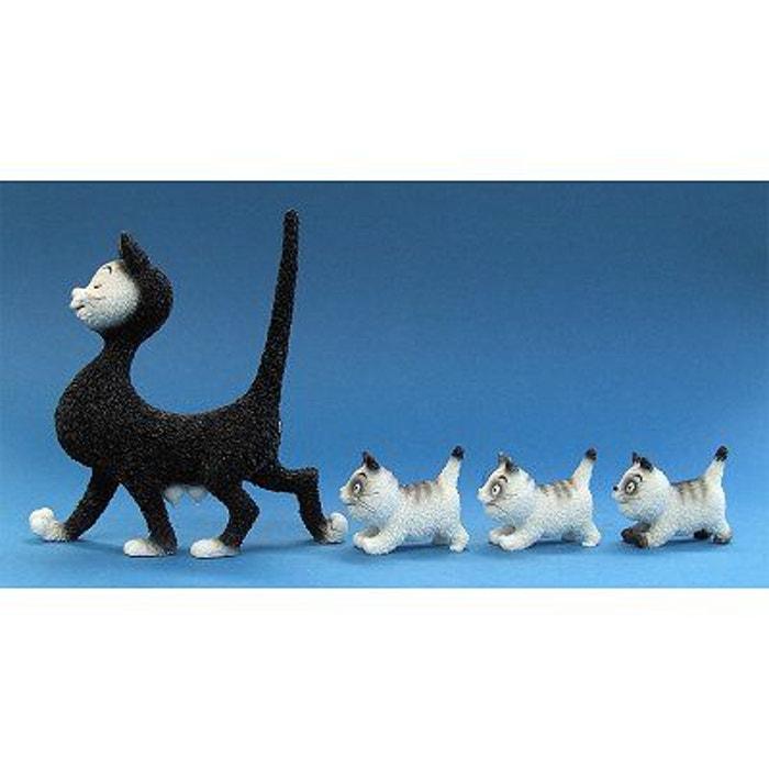Parastone Dubout Chats Collection c/âliner Noir et gris Chat figurine Dub52