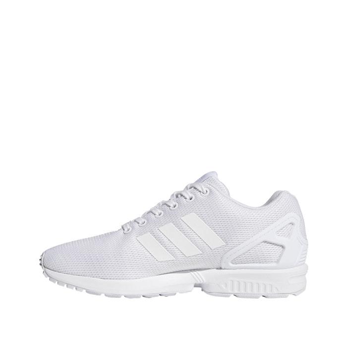 ballena Exclusivo vestir  Zx flux trainers , white, Adidas Originals | La Redoute