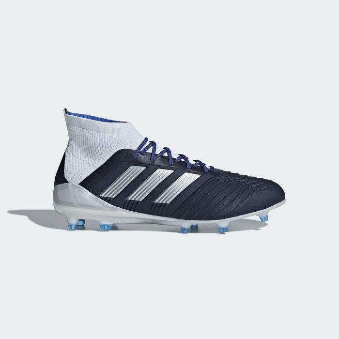 Chaussure predator 18.1 terrain souple bleu Adidas