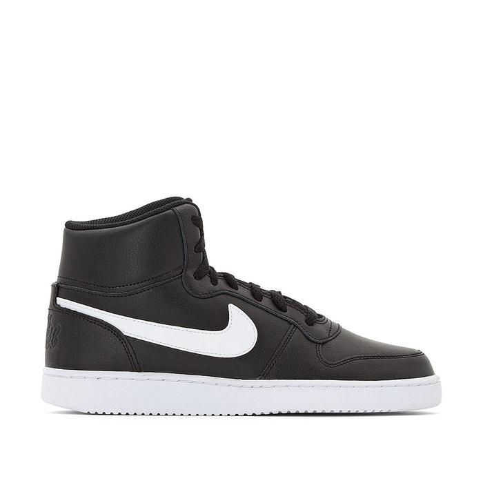 Baskets montantes ebernon mid noir Nike   La Redoute