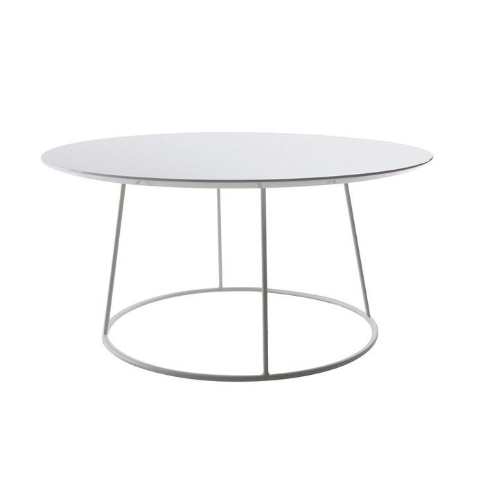 basse d80 blanche x h40 blanc kaly Table design cm laqué 8n0Nwm