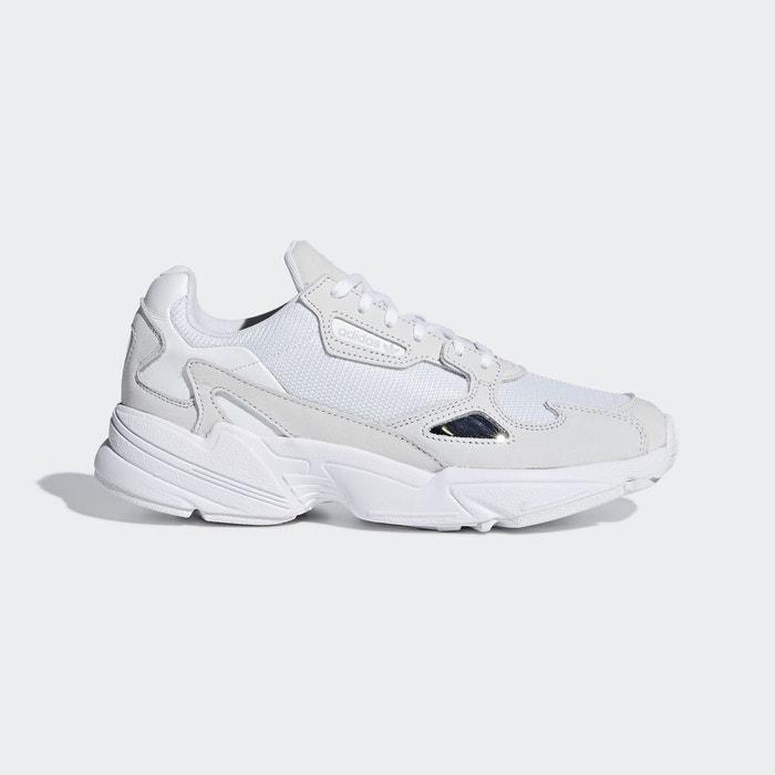 Baskets falcon blanc Adidas   La Redoute