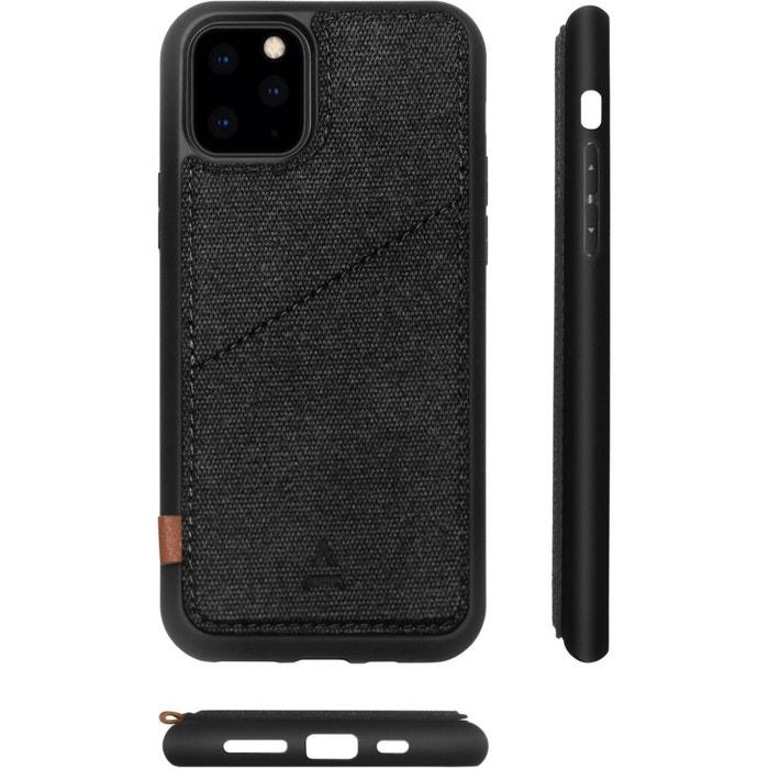 coque aimanter porte carte iphone 7 noir