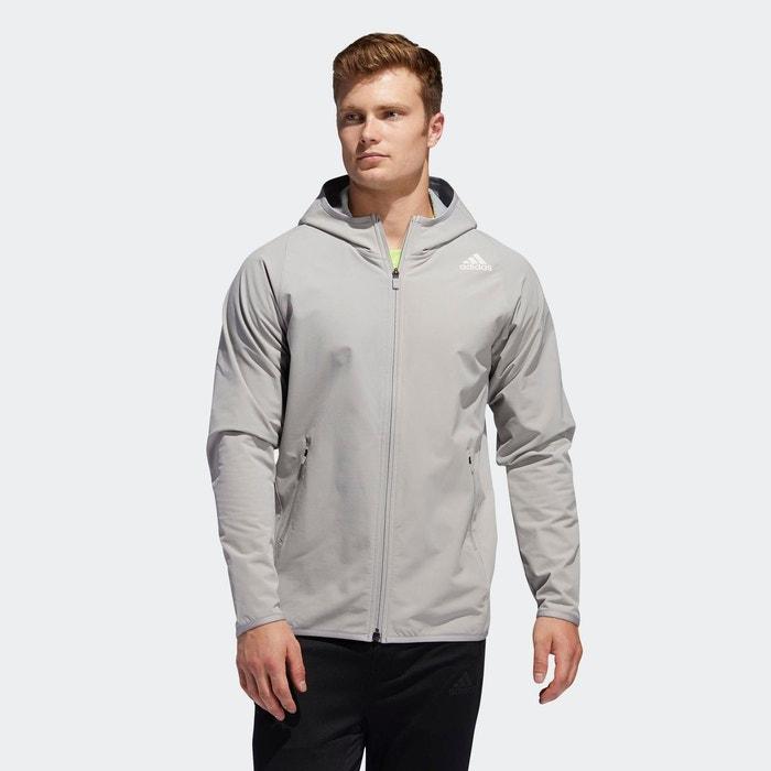 Veste à capuche freelift cold weather gris Adidas