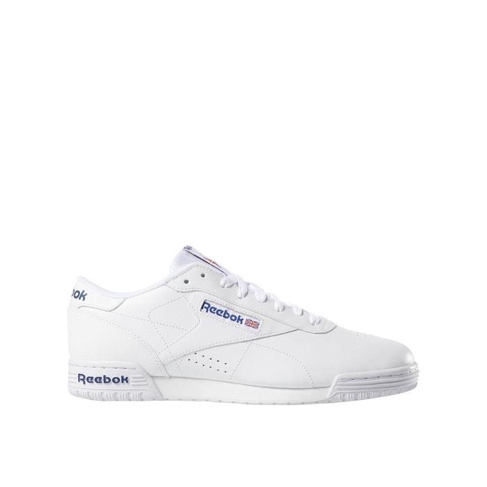 Baskets cuir exofit blanc Reebok | La Redoute