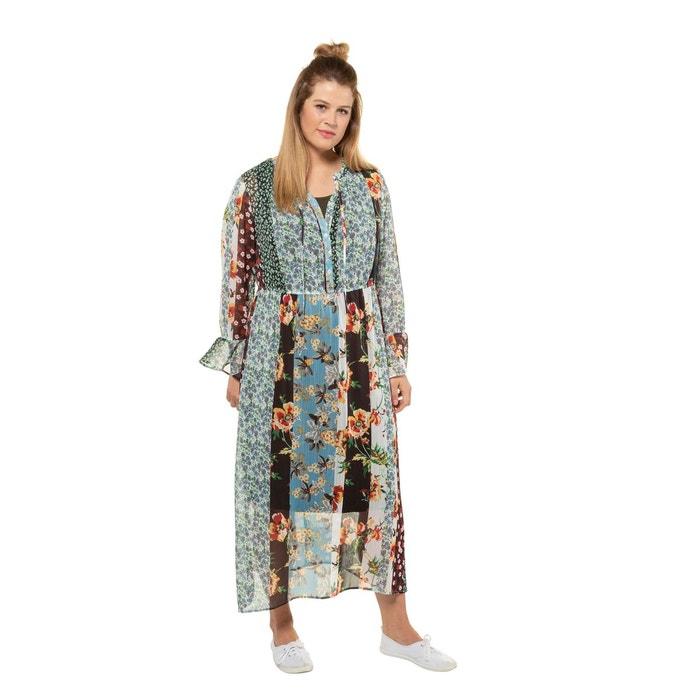 Robe Tunique Voile Transparent Imprime Multicolore Ulla Popken La Redoute