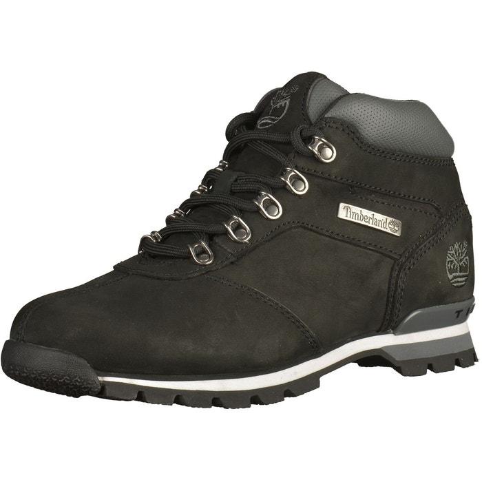Boots splitrock 2 black nubuck noir Timberland   La Redoute