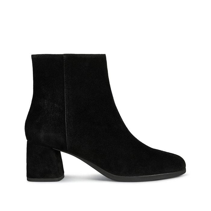 Sociología Mensajero Contratista  Calinda leather ankle boots black Geox   La Redoute