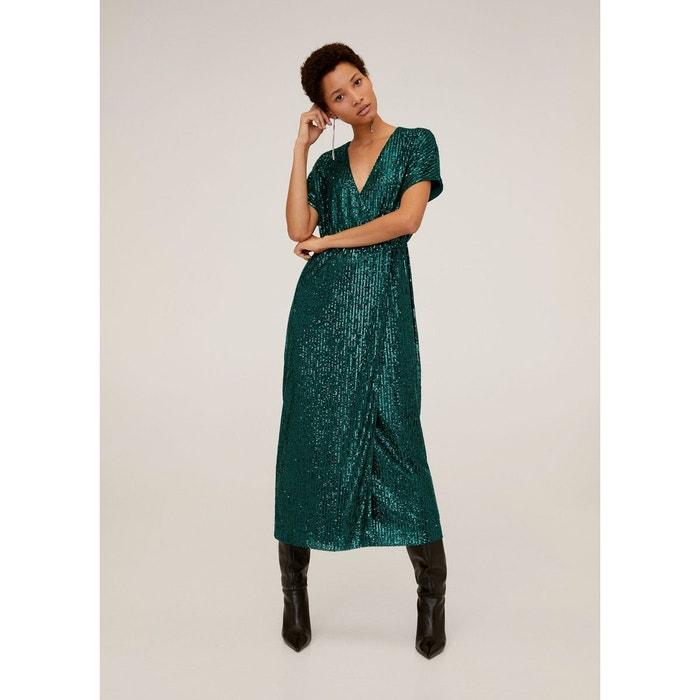 robe longue mango dressing chic