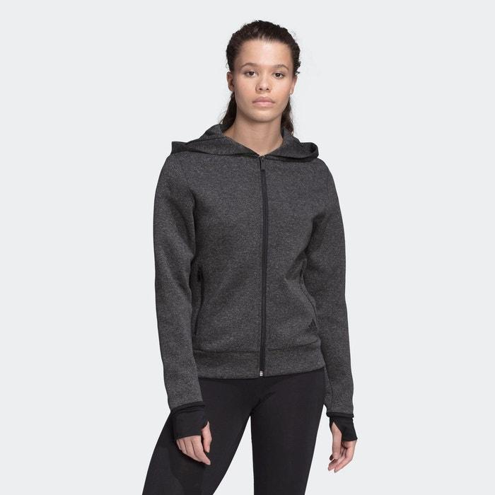 Veste à capuche must haves versatility noir Adidas