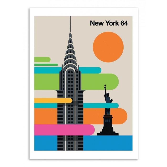 3 dimensions, papier mat ou papier photo Affiche poster new york réf 14