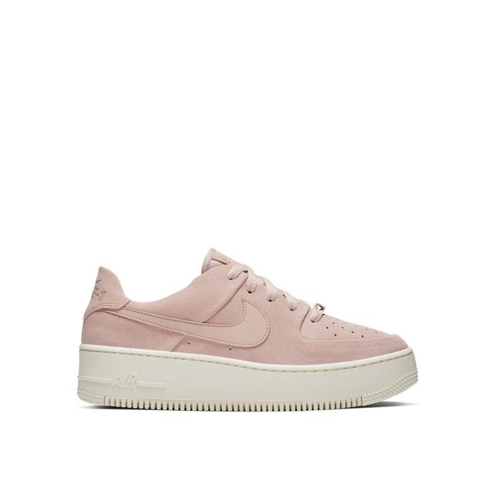 Sapatilhas air force 1 sage low bege Nike   La Redoute