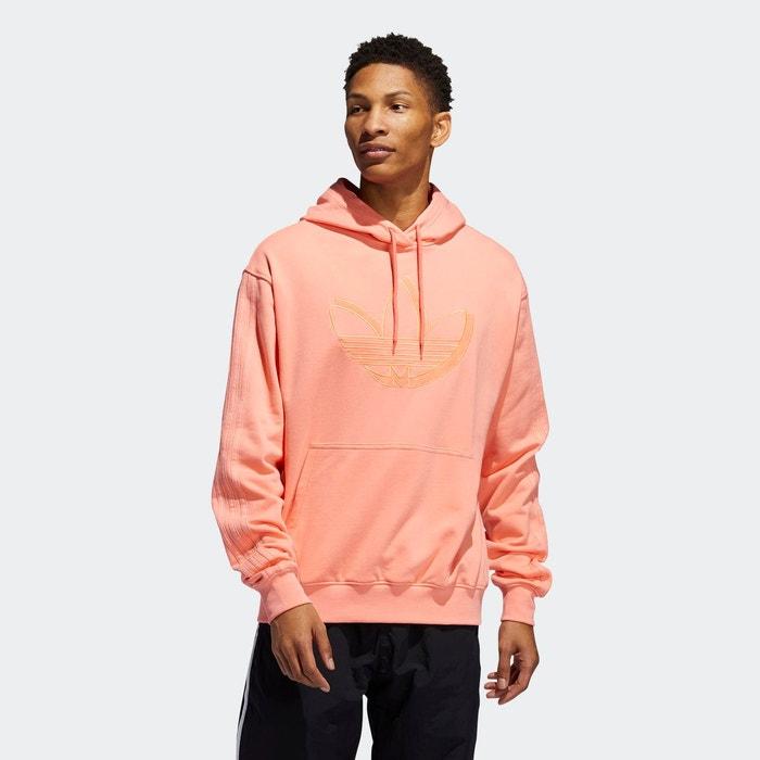 Sweat shirt à capuche shadow trefoil orange Adidas Originals
