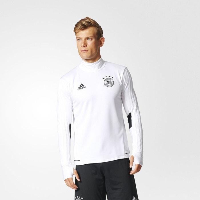 T shirt d'entraînement allemagne blanc Adidas Performance