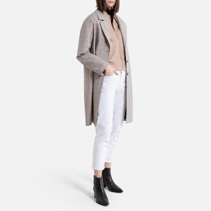 Giacca Jeans Donna Lunghezza Media Lunghezza Cappotto più