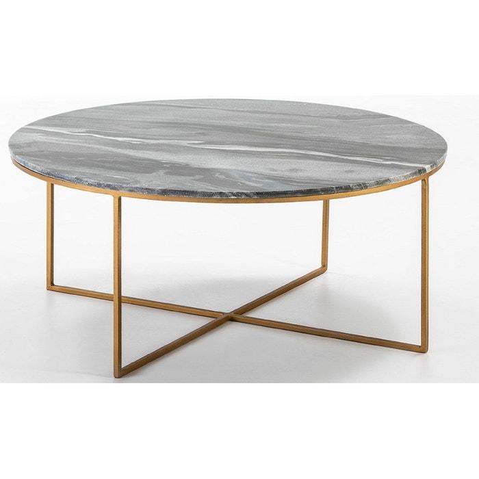 métal basse moderne HOOP Table marbre et QdCsrthx